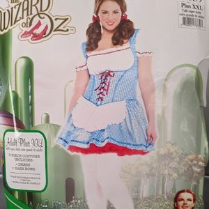 The Wizard Of OZ Dorothy Adult Costume! New!